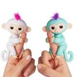 Macaco interativo por atacado o mais quente novo dos peixes pequenos do brinquedo do dedo