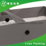 Saco branco pesado feito-à-medida do papel de embalagem Na cor