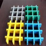 Versterkte FRP/GRP Gevormde Grating van de glasvezel Plastiek in Concave Oppervlakte