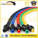 Procircleの抵抗バンドによって11PCSは体操の適性の練習の抵抗の管セットが家へ帰る
