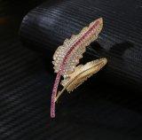De in het groot Juwelen van de Decoratie van het Nieuwe Product voor Partij met Juwelen van het Messing van de Broche van de Vrouw Zircon van de AMERIKAANSE CLUB VAN AUTOMOBILISTEN de Kubieke (553774624471)