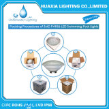 Imperméable IP68 18W 12V56 LED blanc chaud par la lumière de la piscine sous-marin