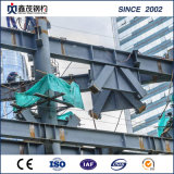 Structure en acier préfabriqués bâtiment avec cadre en acier galvanisé