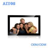 外形図の角度のDisplayerを広告する特別提供の良質ミラーのデジタル写真フレーム