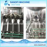 5 Gallonen-Flaschen-Wasser, das füllende mit einer Kappe bedeckende Maschine ausspült