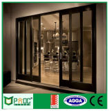 Pnoc080211ls gleicher Preis-Aluminiumschiebetür mit ausgeglichenem Glas