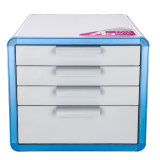 Шкаф архива C6731 4-Drawers Desktop с замком для офиса и домочадца