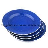 Кухонных набор таблицы открытый Кубок кемпинг форму диска пластину в поход инструменты Soild цвет с обода из нержавеющей стали