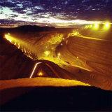 Campo de minas con proyector LED