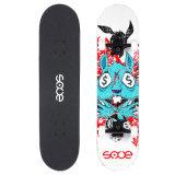"Skate Pontapé Duplo Rabo Cheio Maple feitas 28.5*7.5"" Sooe Sc04-4"