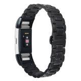 De Manchet van de Vervanging van de Riem van de Armband van de Lijn van het Metaal van het Staal van Stainlese voor Fitbit Last 2