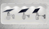 12W Solar-LED Straßenlaterne-Bewegungs-Fühler-im Freiengarten-Lampe