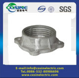 Brida de aluminio de porcelana aislante