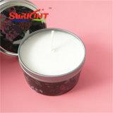 Zinn-Kerze mit Luxuxentwurf und gerochen