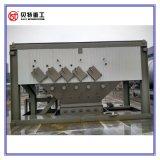 Do asfalto quente da mistura 80t/H do PLC de Siemens do projeto modular máquina concreta com baixa emissão