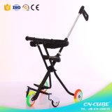 Leichtes Baby-Spaziergänger-Baby, das Baby-Laufkatze mit Trainings-Rädern drückt