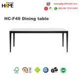 Tabela da sala de jantar da madeira contínua para a mobília da sala de jantar (HC-F49)