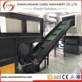 De grote Plastic Ontvezelmachine van de Schacht van het Blok en van het Stuk Enige met Maalmachine