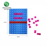 Silicone de promotion de gros ordinateur portable avec Puzzle en pointillés
