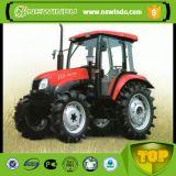 100HP 4WD grande dimensão das explorações agrícolas Yto tratores do motor