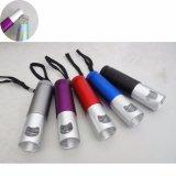 Venta caliente Mini Multi LED Linterna Luz de linterna llavero Abrebotellas