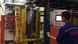 Boya plástica que hace la máquina que moldea del soplo