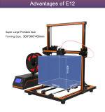 Van de Super Helper OEM ODM de Digitale Stepper 42 van Anet 3D Printer Motor E12