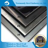 AISI 202 hl de la hoja de acero inoxidable de la superficie para el revestimiento de la elevación