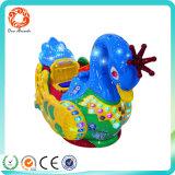 Тип толкателя игра монетки езды детей машины игры езды малышей Giraffe животная