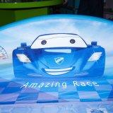 Новый дизайн роскошь провод фиолетового цвета кожи автомобиле детей кровать/Детский мебель