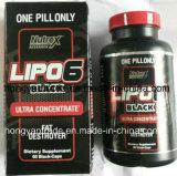 Cápsula sana de la pérdida de peso del suplemento Lipo-6 de Rx de la cuenta de la investigación 60 de Nutrex