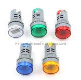 Mini Digital AC Voltímetro LED indicador de tensión de la HM-02