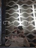 Strato decorativo dell'acciaio inossidabile 304, laser dello specchio con Rosa-Oro