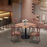 Restaurante traseiro clássico da madeira contínua de X que janta a cadeira (SP-EC140)