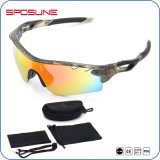 Óculos de sol de ciclagem Dust-Proof do anti enxerto com as 5 lentes permutáveis