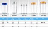 бутылка алюминиевого любимчика крышки 300ml прозрачного пластичная для еды, заедок, печений, упаковывать конфеты