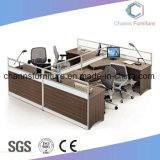 T 모양 8 시트 사무실 나무로 되는 테이블 위원회 워크 스테이션