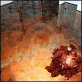 [إبوإكسي رسن] فنّ معدنيّة أرضيّة صبغ مسحوق