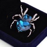 사파이어 거미 형식 보석 브로치