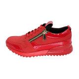 中国の製造者の新式の極度の赤いバスケットボール靴