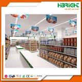 Equipamiento de supermercado con diseño