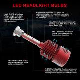 La polarité DEL sensible met en lumière l'ampoule lumineuse superbe H4 de phare de H1 H7 25W DEL