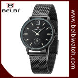Belbi 사업 방수 석영 강철 여자 시계