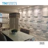 Écran 3D antibruit décoratif intérieur amical de fibre de polyester d'Eco pour le restaurant/hôtel