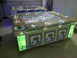 Macchina elettrica personalizzata del gioco di pesca dei pesci della galleria a gettoni della fucilazione