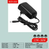 12V 3A 36W EU-Standardwechselstrom-Adapter