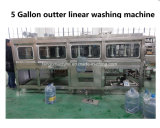 L'eau de 5 gallons Baril Pince à dessertir Brusher extérieur Lavage machine de remplissage d'ensacheur plafonnement de l'étiquetage