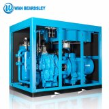 37kw Industrial Oilless Oil Injected Stationary 15% Energy Saving Rate VSD Rotary Screw Air Compressor