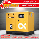 L'India soltanto! compressore d'aria sommerso olio economizzatore d'energia a magnete permanente della vite di 22kw VSD