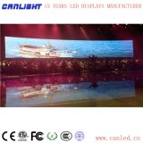 Visualización de LED de alquiler a todo color al aire libre P4 para la etapa